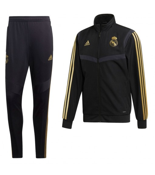 Chandal Adidas Real Madrid 2019/2020 Negro DX7859-DX7839 | scorer.es