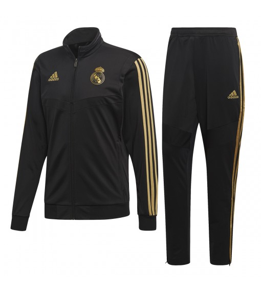 Chandal Adidas Real Madrid 2019/2020 Negro DX7867 | scorer.es