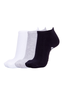 Reebok Socks 3Pk No Show Multi