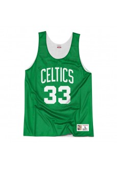Camiseta Hombre Mitchell & Ness Tank Boston Celtics Verde Reversible NNRMDA18007 | scorer.es