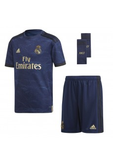 Adidas Real Madrid Away Set Jr 2019/2020 Navy Blue FJ3150