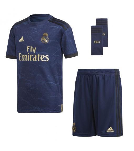 Adidas Real Madrid Away Set Jr 2019/2020 Navy Blue FJ3150   Football clothing   scorer.es