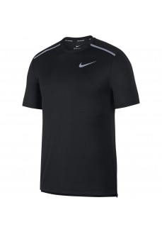 Camiseta Hombre Nike Dri-FIT Miler Negra AJ7565-010