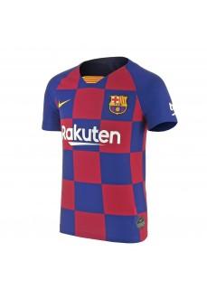 Camiseta Nike FC Barcelona Jr 2019/2020 Azul/Granate AJ5801-457