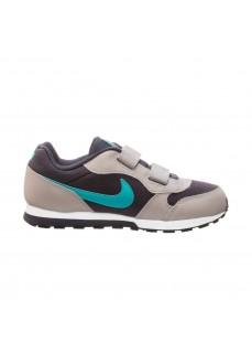 Zapatilla Nike Niño/a MD Runner 2 Gris/Azul 807317-017 | scorer.es