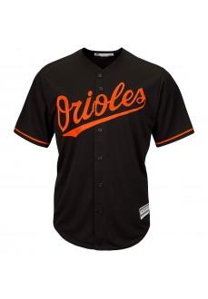 Camiseta Majestic Hombre Baltimore Orioles Replica Cool Base MLB Jersey Negra 7700-ORIA-OLE-RJA | scorer.es