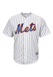Camiseta Majestic Hombre New York Mets Replica Cool Base MLB Jersey Blanco 7700-NME1-NME-RJ1 | scorer.es