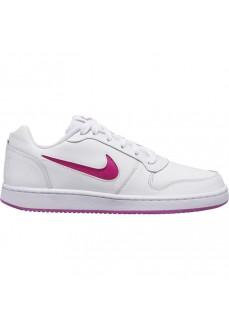 Zapatilla Nike Mujer Ebernon Low Blanco/Rosa AQ1779-103