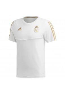 Camiseta Adidas Hombre Real Madrid 2019/2020 Blanco DX7853