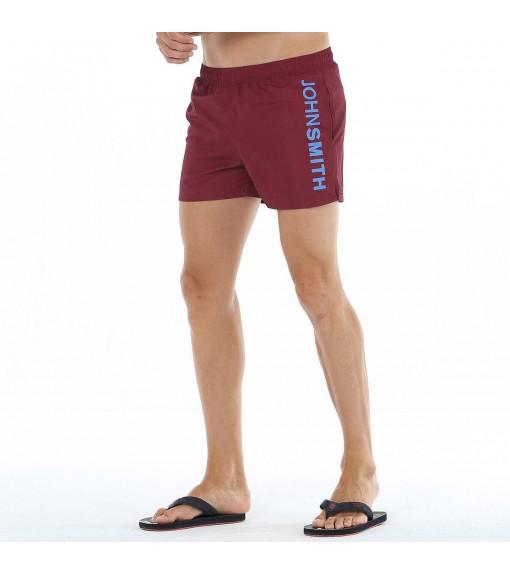 J.Smith Men's Shorts Zarzalo 028 Maroon | Swimwear | scorer.es