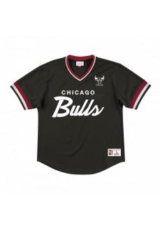 Camiseta Mitchell & Ness Hombre Chicago Bulls Negra MSPOMG18058-CBUBLCK | scorer.es