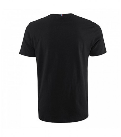 Le Coq Sportif Men's T-Shirt Tricolore Tee Black 1920484 | Short Sleeve | scorer.es
