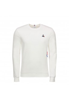 Le Coq Sportif Men's Sweatshirt Tricolore Crew Sweat White 1920548