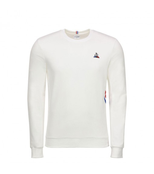 Le Coq Sportif Men's Sweatshirt Tricolore Crew Sweat White 1920548 | Sweatshirt/Jacket | scorer.es