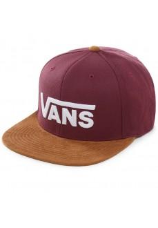 Gorra Vans Drop V II Snapbac Granate/Marron VN0A36ORTQV1
