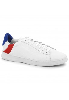 Le Coq Sportif Men's Trainers Break Cocarde White with Red y Blue 1920070