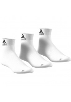 Calcetines Adidas medio Blanco Pack 3