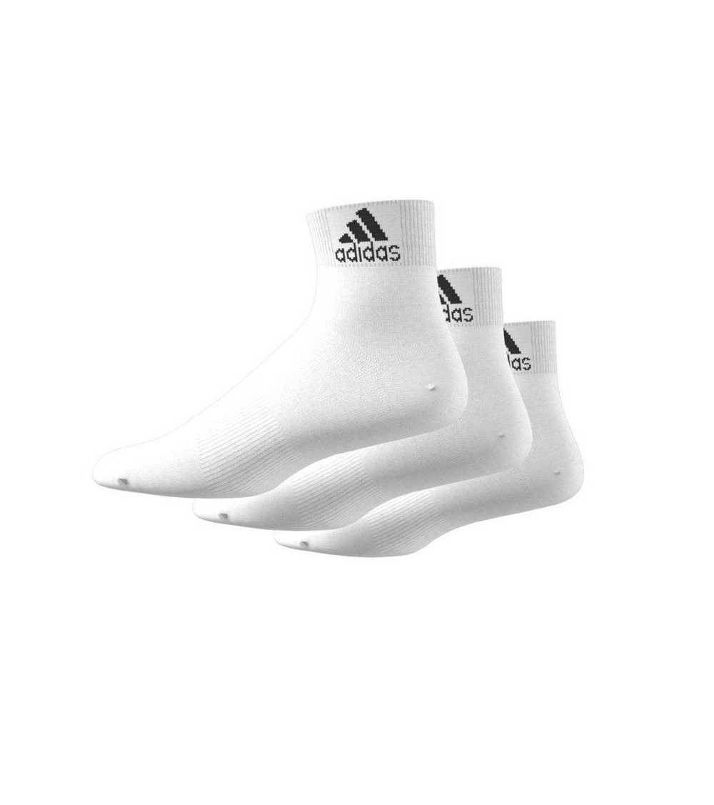 Pack tres calcetines blancos deporte Adidas AA2320