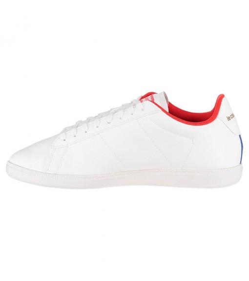 Le Coq Sportif Men's Trainers Courtset Sport White with Red 1920254 | Low shoes | scorer.es