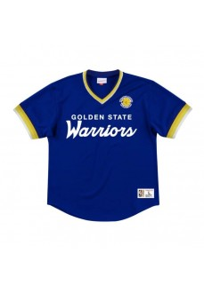 Camiseta Mitchell & Ness Hombre Golden State Warriors Azul MSPOMG18058-GSWROYA