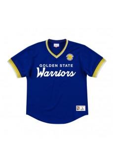 Mitchell & Ness Men's T-Shirt Golden State Warriors Blue MSPOMG18058-GSWROYA