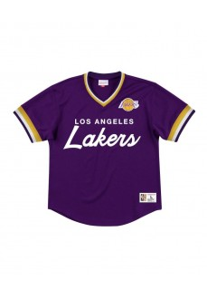 Camiseta Mitchell & Ness Hombre Los Angeles Lakers Morada MSPOMG18058-LALPURP | scorer.es