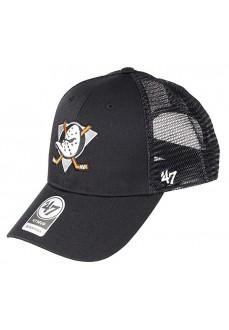Gorra Brand 47 NHL Anaheim Ducks Branson Negra H-BRANS25CTP-BKA | scorer.es