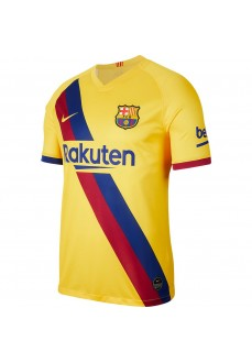 Camiseta Nike FC Barcelona 2019/20 Stadium Away Amarillo AJ5531-728 | scorer.es