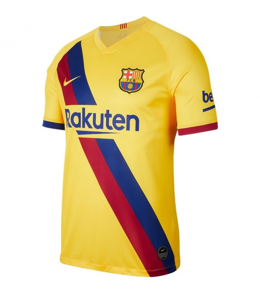 Nike T-Shirt FC Barcelona 2019/20 Stadium Away Yellow AJ5531-728 | Football clothing | scorer.es