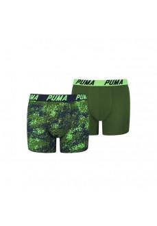 Boxer Puma Niño Basic 2P Seasonal Azul/Verde 695002001-226