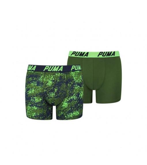 Puma Kids' Boxer Basic 2P Seasonal Blue/Green 695002001-226   Underwear   scorer.es
