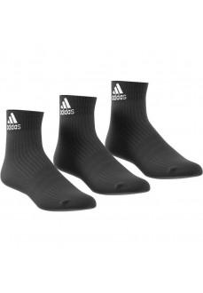 Calcetines Adidas medio Negro Pack 3