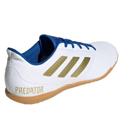 Zapatilla Adidas Hombre Predator 19.4 IN Blanco/Azul Royal EG2827 | scorer.es