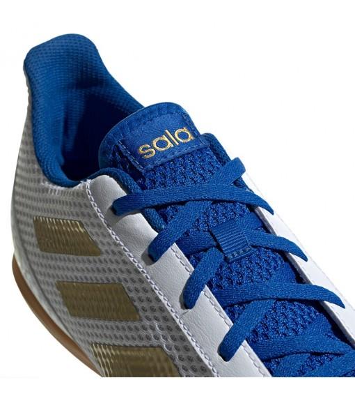 Adidas Men's Trainers Predator 19.4 IN White/Blue Royal EG2827 | Football boots | scorer.es
