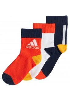Calcetines Adidas Infantil Lk Ankle 3PP Varios Colores ED8616 | scorer.es