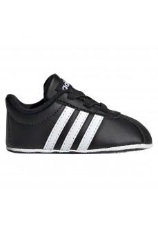 Zapatilla Adidas Infantil VL Court 2.0 Negro/Blanco EE6911 | scorer.es