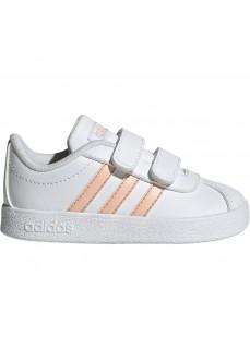 Zapatilla Adidas Infantil VL Court 2.0 Blanco/Rosa EE6909 | scorer.es