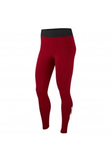 Malla Nike Mujer Legasse HW Fu Rojo/Negro logo Blanco BQ9771-677 | scorer.es