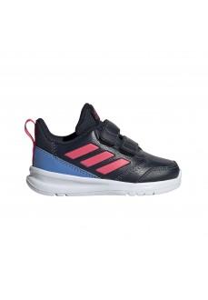 Adidas Trainers AltaRun Navy Blue/Pink/Blue G27280 | No laces | scorer.es