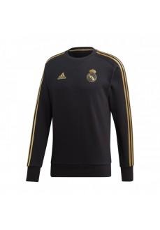 Sudadera Adidas Hombre Real Madrid 2019/2020 Negra/Oro DX7863 | scorer.es