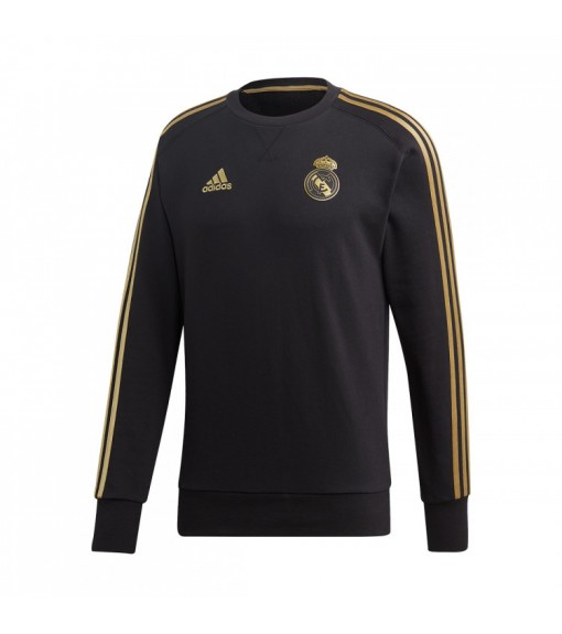 Sudadera Adidas Hombre Real Madrid 2019/2020 Negra/Oro DX7863   scorer.es