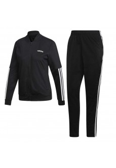 Chándal Adidas Mujer Back 2 Basics 3 bandas Negro Lineas Blancas DV2428