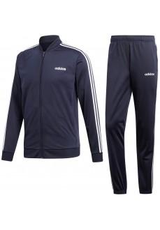 Adidas Men's Tracksuit Back 2 Basics 3 Stripes Blue Stripes White DV2468 | Tracksuits | scorer.es