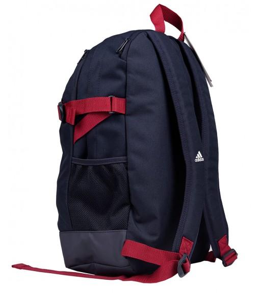 Adidas Bag Medium 3 stripes Power Navy Blue Stripes White y Bands Maroon DZ9438 | Backpacks | scorer.es