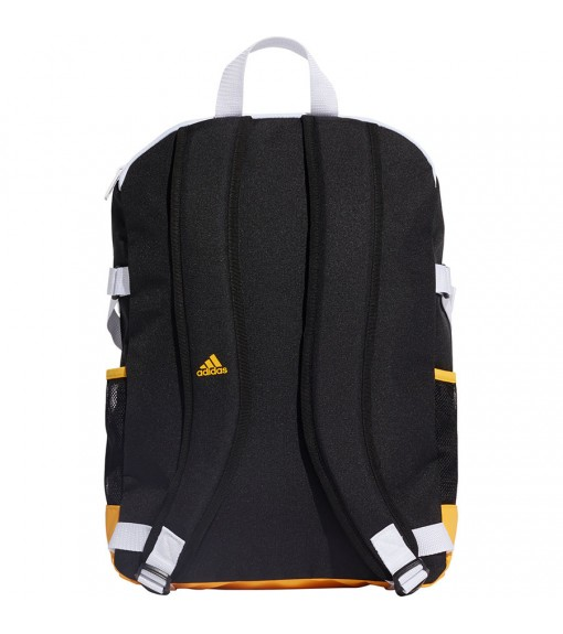 Mochila Adidas mediana 3 bandas Power Negro Bandas Amarillas Tiras Blancas DZ9440
