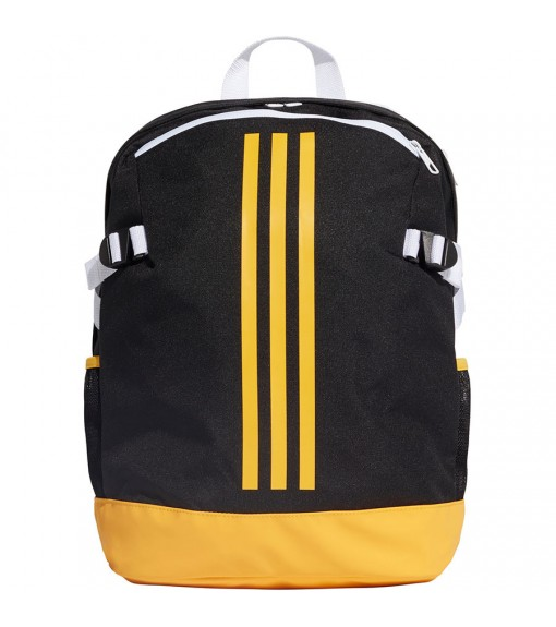 Adidas Bag Medium 3 stripes Power Black Stripes Yellows Bands White DZ9440   Backpacks   scorer.es