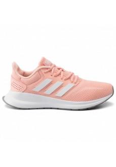 Zapatilla Adidas Mujer Runfalcon Rosa Bandas Blancas EE8165 | scorer.es