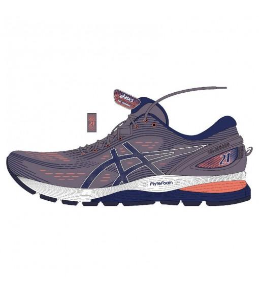 Asics Women's Trainers Gel Nimbus Lavanda Grey/Blue 1012A156-500 | Running shoes | scorer.es