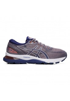 Asics Women's Trainers Gel Nimbus Lavanda Gray/Blue 1012A156-500