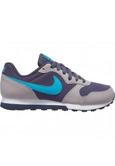 Zapatilla Nike Niño/a MD Runner 2 Gris/Azul 807316-017 | scorer.es